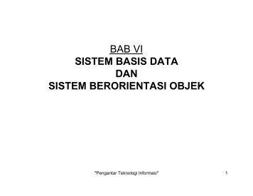 BAB-6 Sistem BasisData - Blog Bina Darma