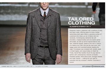 Casual tweeds relaxed suits /  Unconstructed ... - Richline Creative