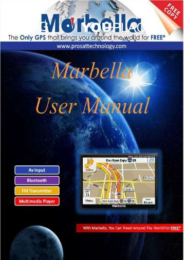 Marbella MK-74 7inch GPS (Navigation Manual) - Supreme Antennas