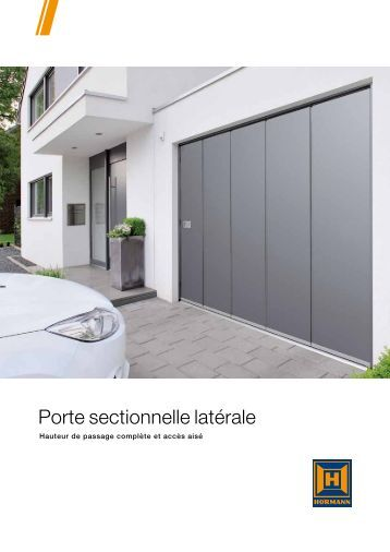 Notice de pose moteur gfa pour portes sectionnelles for Notice montage porte garage sectionnelle fame