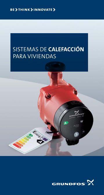 Ups upsd series 200 grundfos - Sistemas de calefaccion para viviendas unifamiliares ...