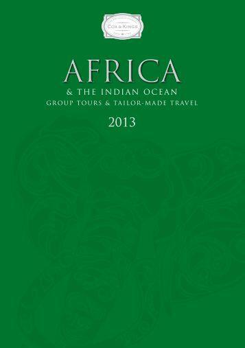 Cox & Kings Africa 2013 Brochure - Travel Club Elite