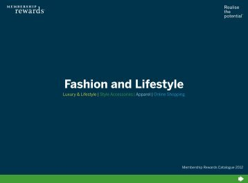 Fashion and Lifestyle - American Express