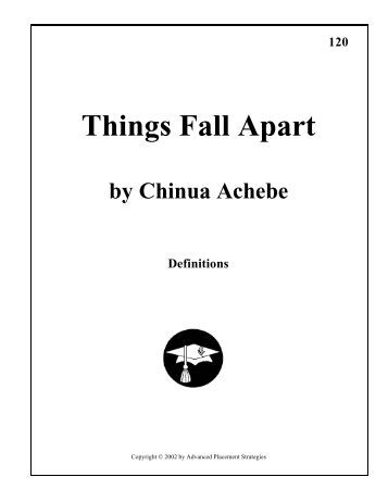 things fall apart study questions Short answer study questions for things fall apart learn with flashcards, games, and more — for free.