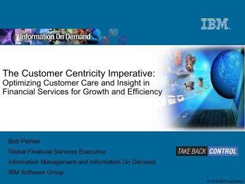 IBM Software Group Presentation Template