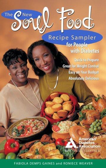 Soul Food Recipe Sampler - American Diabetes Association