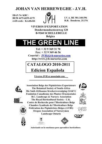 Catálogo edicíon española - JVH Nurseries