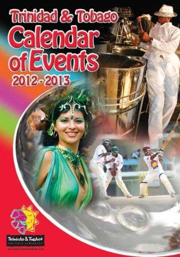 Calendar of Events - Trinidad and Tobago
