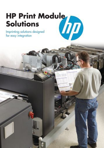 HP Print Module Solutions - Hewlett Packard