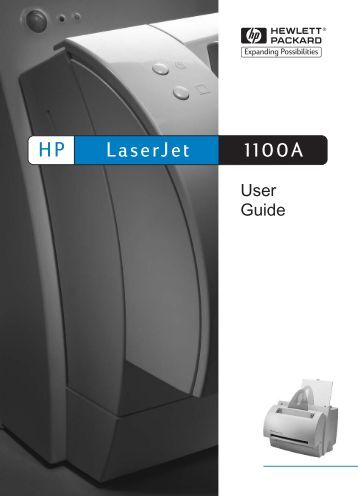 LaserJet 1100A HP - Hewlett Packard