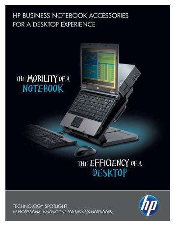 HP Business Notebook Accessories for a Desktop ... - Hewlett Packard