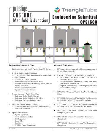 PVC/CPVC Low Profile Sidewall Vent Termination Kit