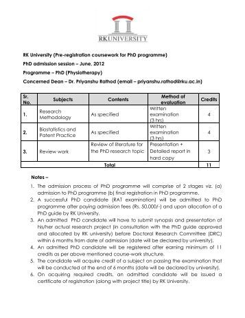 coursework phd burdwan university Assam university regulation on mphil and phd degree a phd student is eligible to get one year of degree will get10% of their coursework grade/ % of marks.