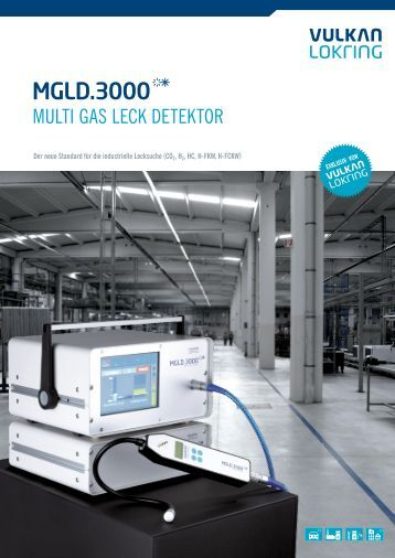 PDF-Download Katalog MGLD 3000 - Multi Gas Leck Detektor