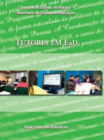 TUTORIA EM EaD - Portal do Professor - Ministério da Educação