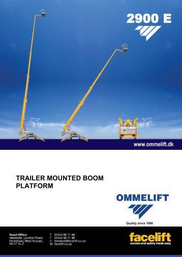 Omme Lift 2900 E - Facelift