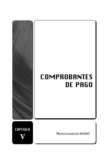 COMPROBANTES DE PAGO - Revista Asesor Empresarial