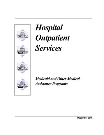 Provider claim form for direct payment of outpatient