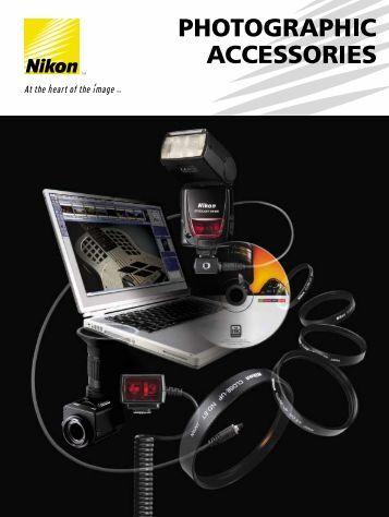 Photographic Accessories - Nikon