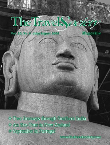 Vol. 26 No. 6 July-August 2008 - The Travel Society