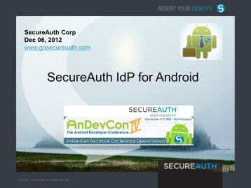 Android - SecureAuth