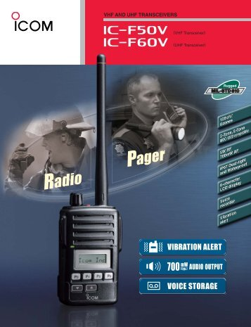 product brochure... - ICOM Canada