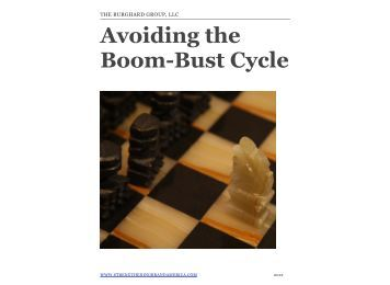 Avoiding the Boom-Bust Cycle - Strengthening Brand America