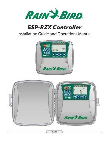 rain bird irrigation system manager manual
