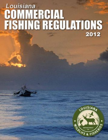 What s new in 2012 for La fishing license