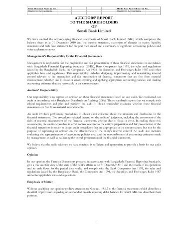 sonali bank report Sonali bank (uk) limited is authorised by the prudential regulation authority and regulated by the financial conduct authority and the prudential regulation authority registered in england and wales registered number 3792250 registered office 29-33 osborn street, london e1 6td.