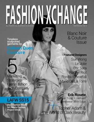 Blanc Noir & Couture: Issue No.9