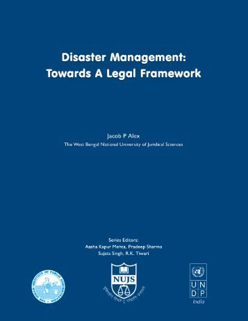Disaster Management - Indian Institute of Public Administration