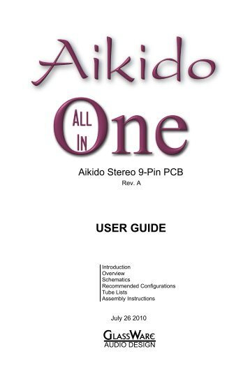 Aikido All in One.pdf - Tube CAD Journal