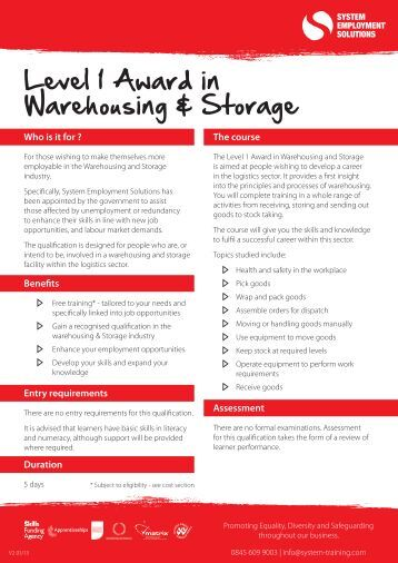 warehousing and storage system Mathematical models of the storage system 22 literature review providing a  comprehensive literature review of warehousing systems, storage systems, and.