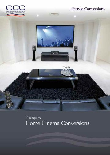 Home Cinema Conversions - Home Cinema Garage Conversion