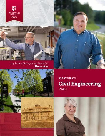 to download the brochure - Norwich University's Masters in Civil ...