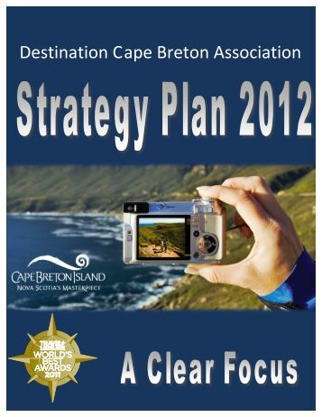 Plan - Destination Cape Breton Association