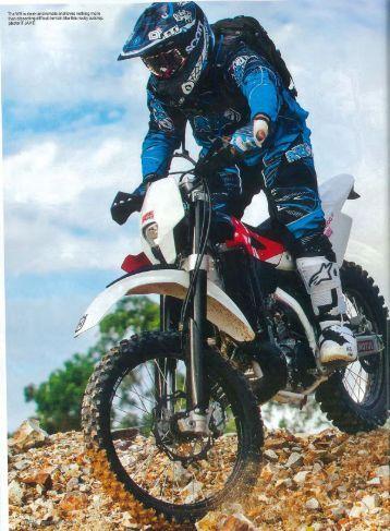 Test WR 300 TBAM - Husqvarna