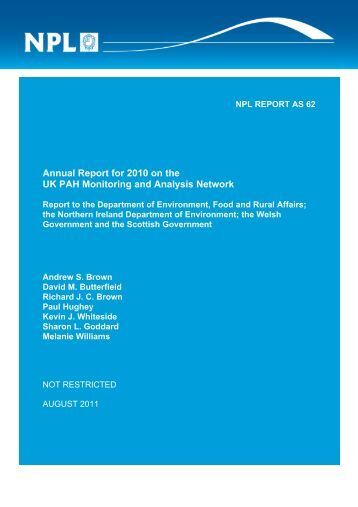 Download Report Document - UK-Air - Defra