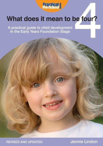 What does it mean to be four practical pre school books