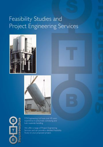 feasibility studies industrial engineering Project feasibility study samples - download as word doc (doc / docx), pdf file (pdf), text file (txt) or read online.