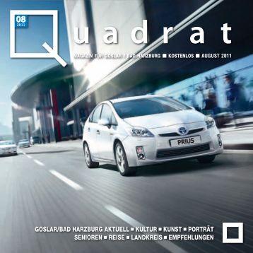 2011 - Herzlich Willkommen bei Quadrat