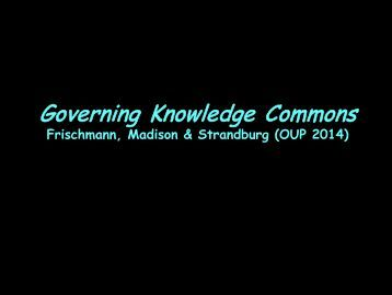 frischmann-governing-knowledge-commons