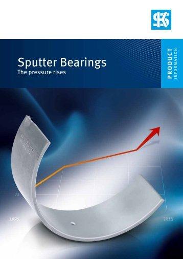Sputter Bearings - KSPG Automotive Brazil Ltda. Divisão MS Motor ...