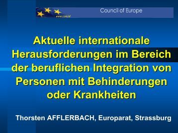 Referat Thorsten Afflerbach - internationaler reha kongress 2010