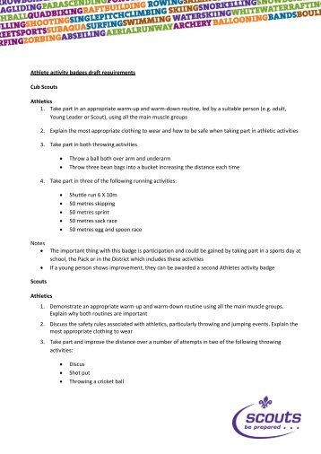 Webelos worksheets to pass off requirements | Boy Scout Ideas ...