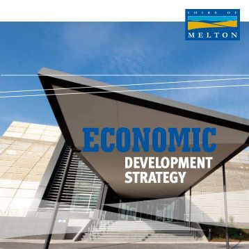 DEVELOPMENT STRATEGY - Melton City Council