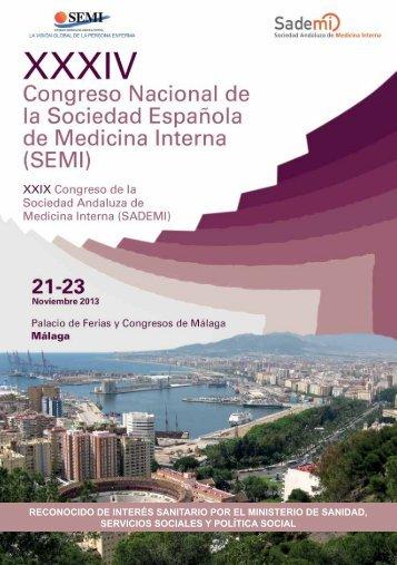 XXXIV Congreso Nacional Sociedad Española de Medicina Interna