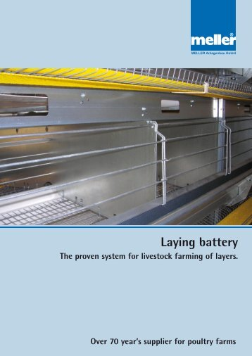 Laying battery World-wide in action! - Meller.net
