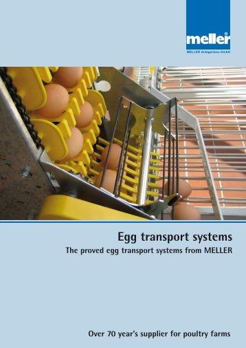 Egg transport systems World-wide in action! - Meller.net